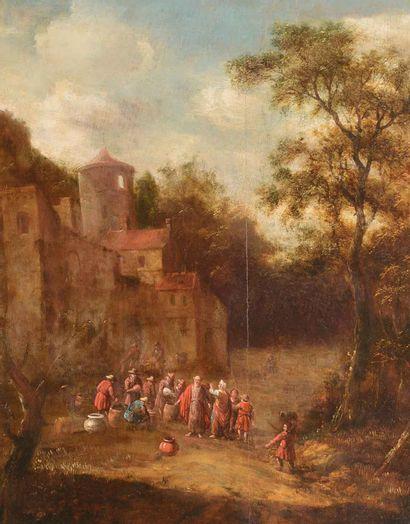 Dans le goût de l'Ecole FLAMANDE, XVIIIe siècle