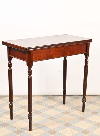 Table à plateau articulé