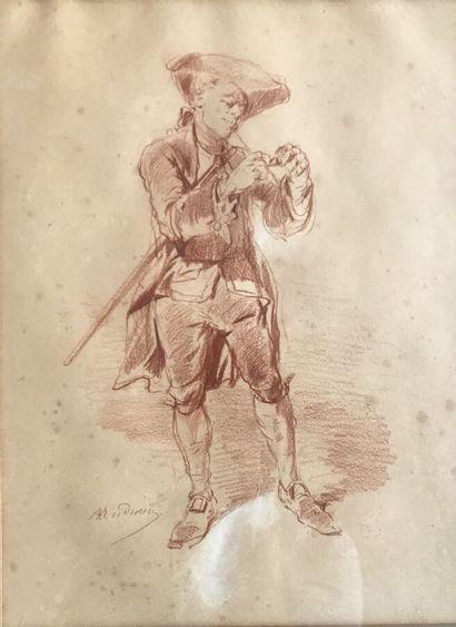Clément Auguste ANDRIEUX (1829-1880)  Gentilhomme...