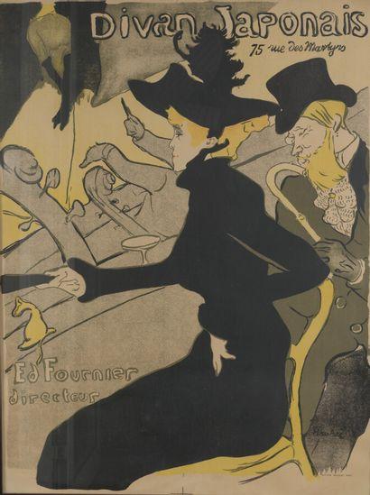 D'après Toulouse-Lautrec