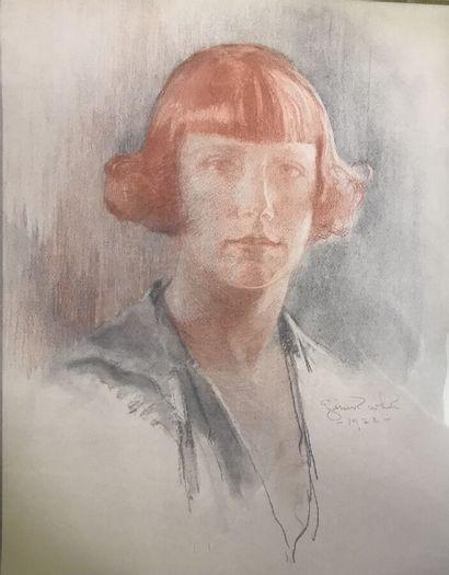 Thomas Gilbert WHITE (1877-1939)  Portrait...