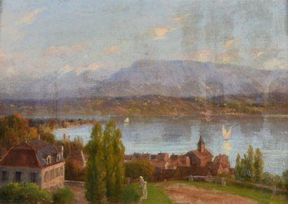 Ecole FRANCAISE ou SUISSE du XIXe siècle...