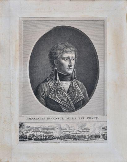 Bonaparte, Ier Consul et la bataille de Marengo...