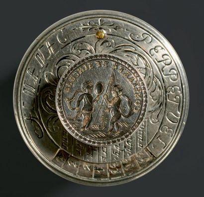 Sceau d'un trésorier de l'église formant: - Almanach annuel épiscopal indiquant...