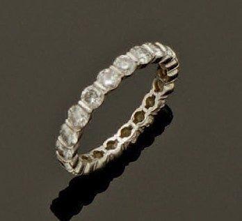 Alliance américaine, composée de vingt diamants...