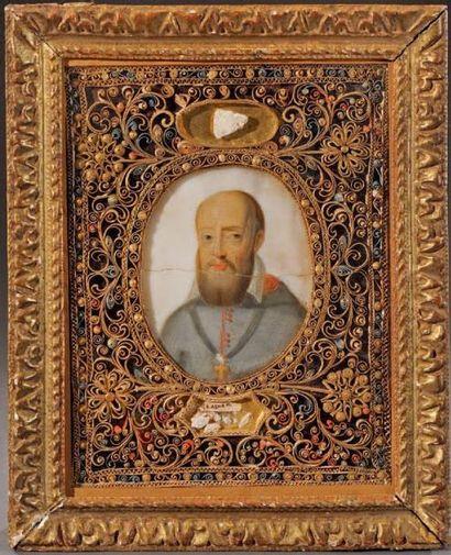 Saint François de Salles Beau portrait en...