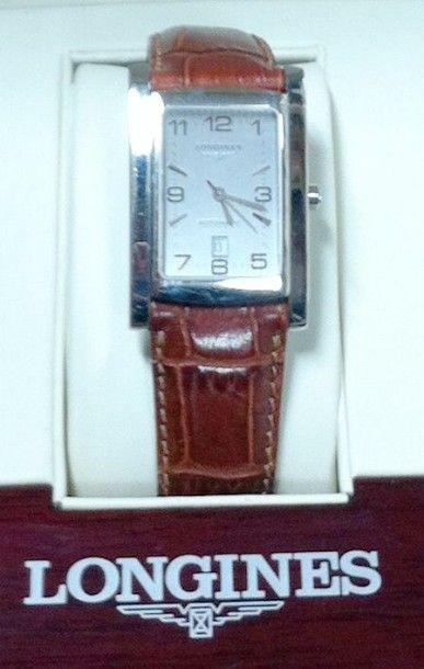 LONGINES Bracelet montre d'homme, modèle «Dolce Vita» (ref: 56574732) Boîtier et...