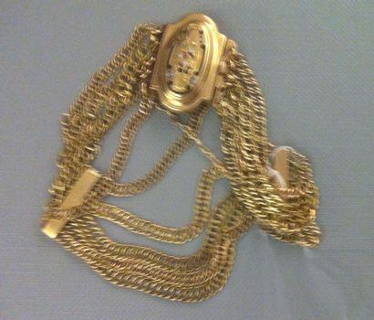 Ravissant et fin bracelet d'époque Napoléon...