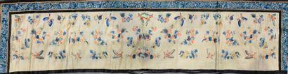 Bandeau brodé, Chine, fin du XIXe-début du...