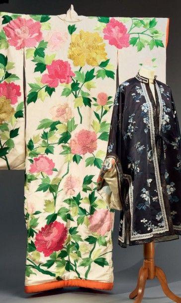 Kimono de mariage, Japon, milieu du XXe siècle,...