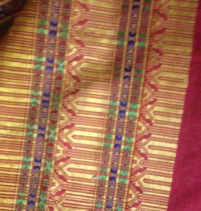 Sari, Inde, première moitié du XXe siècle,...