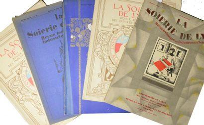 La Soierie de Lyon, revue technique des industries...