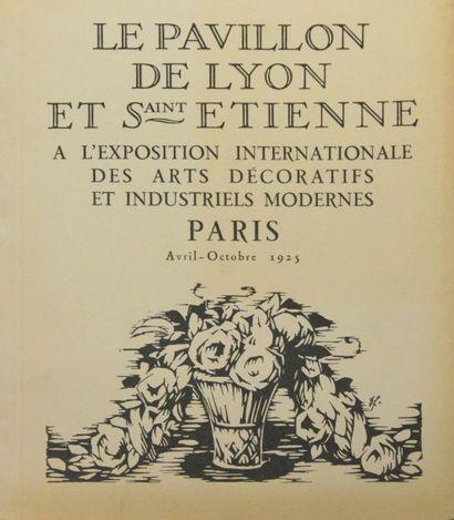 Le Pavillon de Lyon et Saint Étienne à l'Exposition...