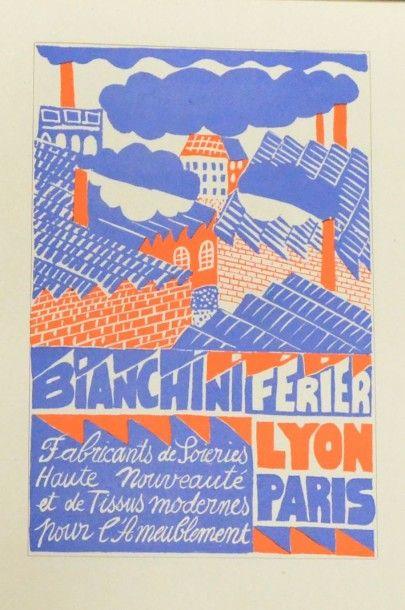 Le Pavillon de Lyon et Saint Étienne à l'Exposition internationale des Arts Décoratifs...
