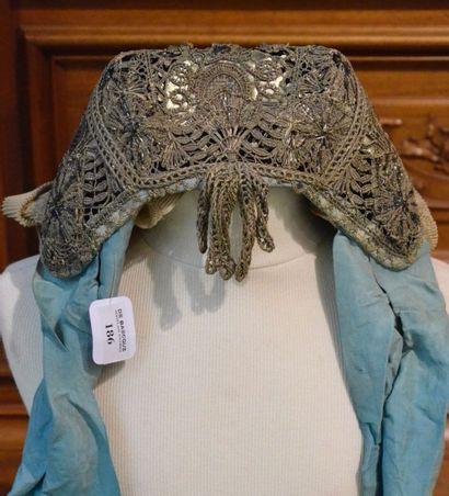Coiffe première moitié du XIXe siècle, bonnet...