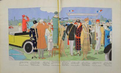 AGB, Art, Gout, Beauté, ensemble de neuf numéros pour 1923 et 1924, nos 32, 34,...