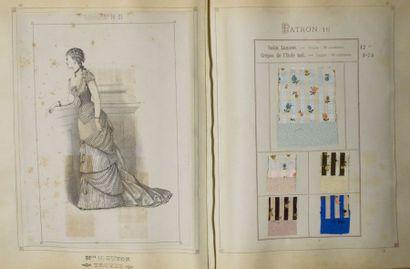 Album de Marix Frères Jeunes à Lyon, pour la Collection Automne & Hiver 1879, 34...