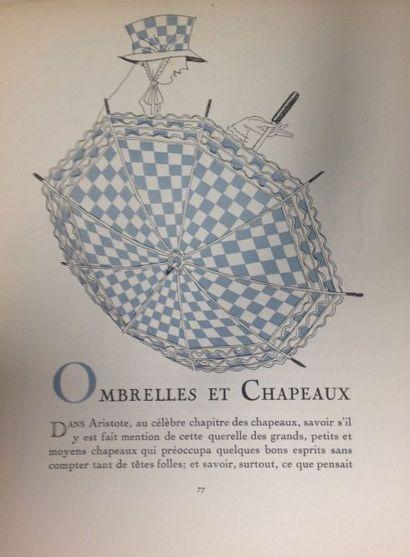 Quelques notes sur l'ombrelle, supplément du journal la Soierie de Lyon, Juin 1923,...