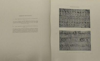 COX (R.) Les soieries d'art, depuis les origines jusqu'à nos jours, Hachette, Paris,...