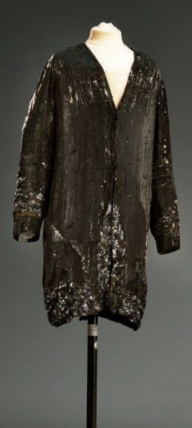 Manteau du soir, vers 1925-1930, broderie...