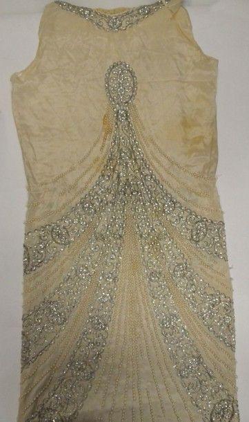 Partie d'une garde-robe bourgeoise, 1920-1940...