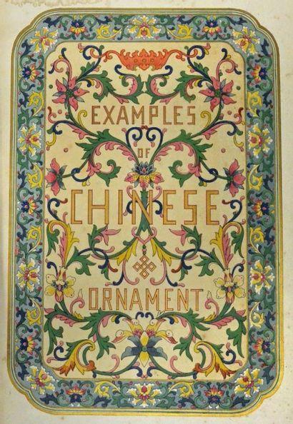 [ORNEMENT] Réunion d'ouvrages illustrés et portefeuilles, JONES (O.) Examples of...