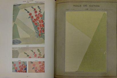Album d'échantillons d'imprimés, L. Bouix,...