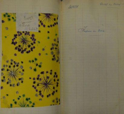 Deux albums d'imprimés pour la mode, Staron,...