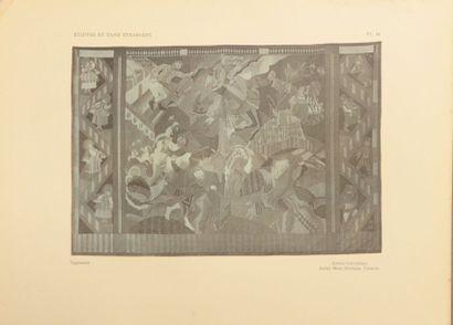 VERNEUIL (M.P) Exposition des Arts décoratifs Paris 1925, Étoffes et Tapis étrangers,...