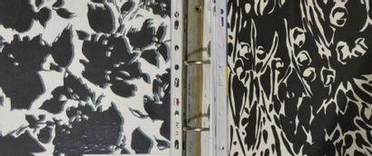 Empreintes d'imprimés pour la mode, Mermoz,...