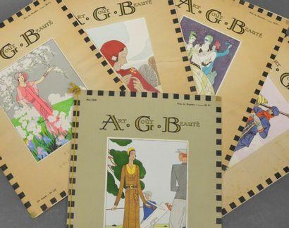 AGB, Art, Gout, Beauté, suite de cinq numéros...