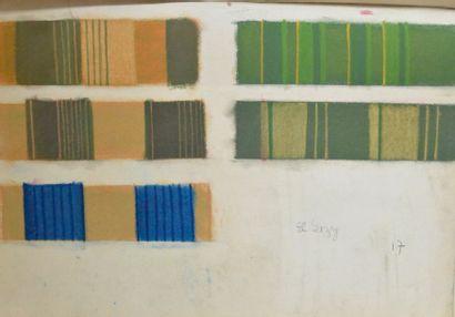 Cours de Tissage manuscrit, Lyon, second...