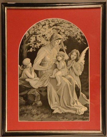 Prière de l'enfant Jésus, Neyret-frères,...