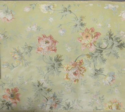 Réunion de papiers peints, vers 1880- 1900,...