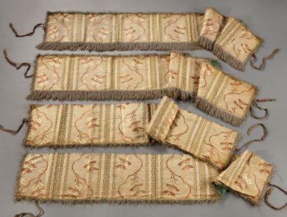Garnitures de dais ou baldaquin, vers 1760,...