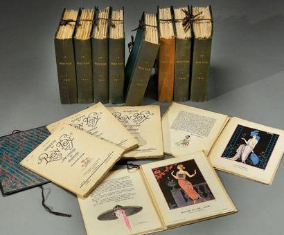 Gazette du Bon ton, art, Mode et frivolités,...