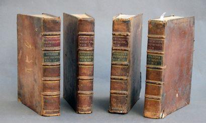 LACRETELLE (publié par Pierre Louis) ENCYCLOPÉDIE MÉTHODIQUE. PARIS, PANCKOUCKE -...