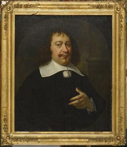 Ecole hollandaise du XVIIe siècle  Portrait...