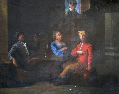 École ALLEMANDE du XVIIIe siècle, entourage de Justus JUNKER