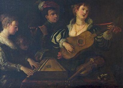 École d'ITALIE DU NORD, vers 1640