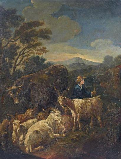 Attribué à Cajetan ROOS dit Gaetano da ROSA (1690-1770)