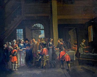 École FRANÇAISE du XVIIe siècle, entourage de Claudine BOUZONNET<br/>STELLA