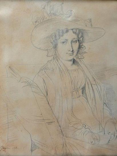 Jean Auguste Dominique INGRES (Montauban 1780 - Paris 1867) et collaborateurs
