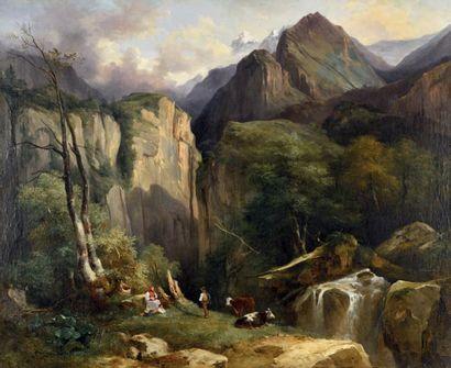 Jules COIGNET<br/>(Paris 1798 - Paris 1860)