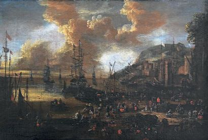 Attribué à Peter CASTEELS (actif 1650-1674)