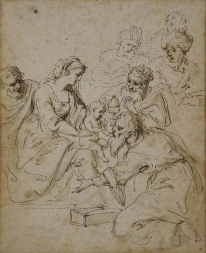 Ecole ITALIENNE du XVIIe siècle  La présentation...
