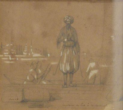 Charles de C. (XIXe siècle)  Capitaine de...
