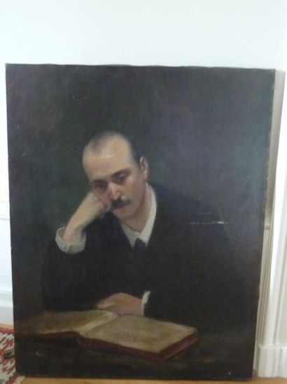 Attribué à Jacques MARTIN (1844-1919)  Portrait...
