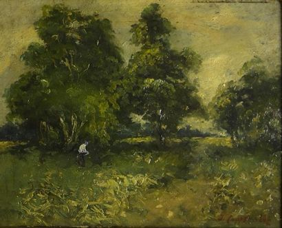 Jacques VAN COPPENOLLE (1878-1915)  Paysage...