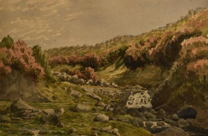 Attribué à Columbano BORDALO-PINHEIRO (1857-1929)...